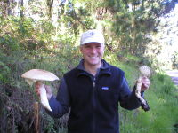 Winemaker Dan Tudor is also an avid Mushroom Forager!