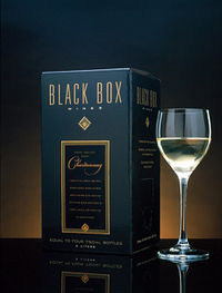 Black Box Wines - Vintage Dated California wines in a box.