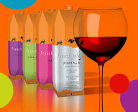 French wine -