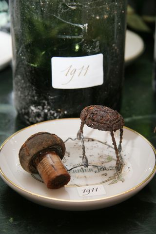 1911 bottle and cork